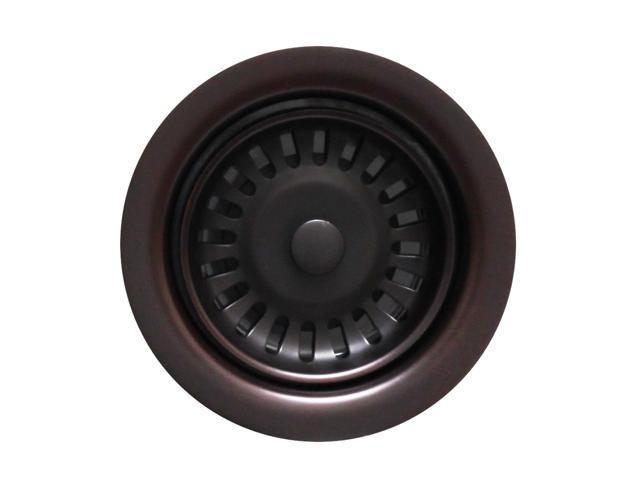 Waste Disposer Trim For Deep Fireclay Sink Applications-Oil Rubbed Bronze-WH202-ORB