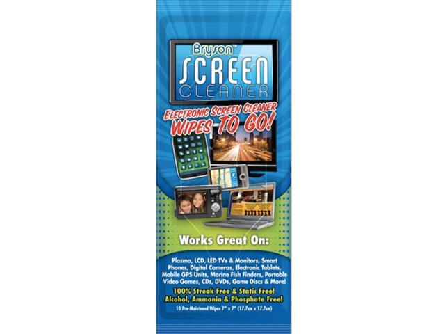 Bryson Citrusafe Screen Cleaner Wipes Item 6 Pack