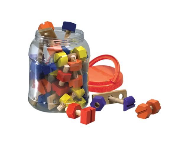 The Original Toy Company GA98 - Nuts And Bolts - 38 Pieces