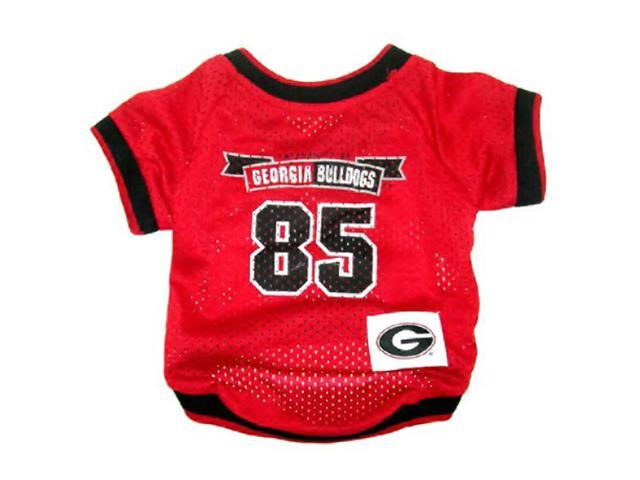 Pets First Sports Team Logo Georgia Bulldogs Dog Jersey Large