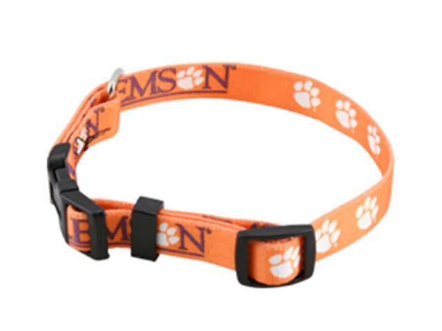 Hunter Sports Team Logo Clemson Dog Collar Large