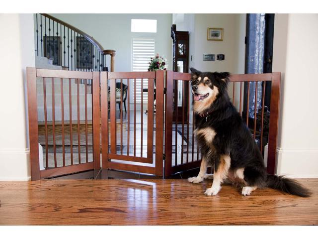 Primetime Petz 360 Household Wooden Furniture Configurable Pet Safety Gate
