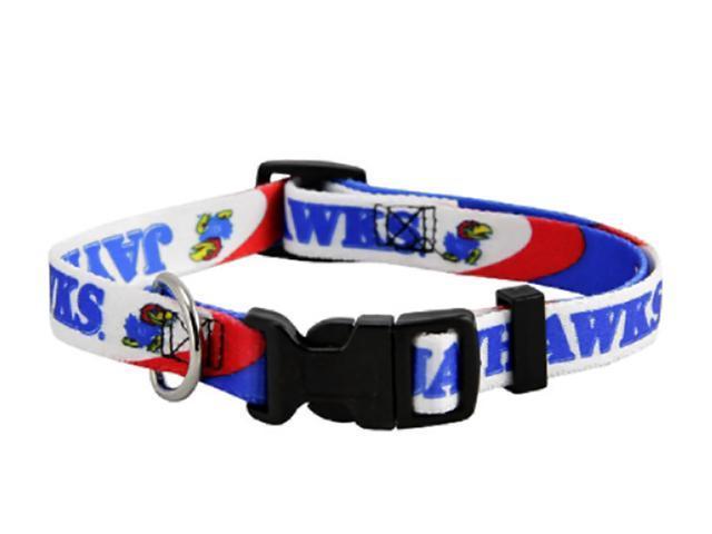 Hunter Sports Team Logo Kansas Jayhawks Dog Collar Small