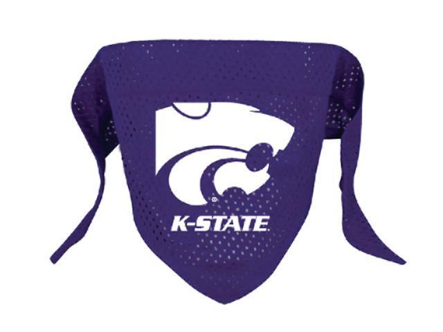 Hunter Sports Team Logo Kansas State Dog Bandana-Mesh Small