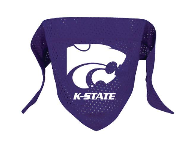 Hunter Sports Team Logo Kansas State Dog Bandana-Mesh Large