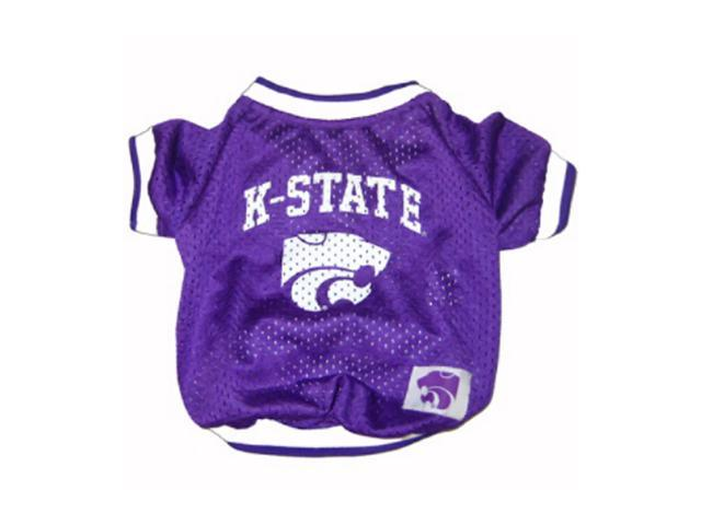 Pets First Sports Team Logo Kansas State Dog Jersey Xtra Small