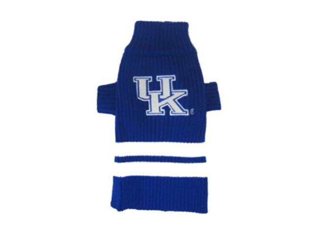 Pets First Sports Team Logo Kentucky Wildcats Dog Sweater Xtra Small