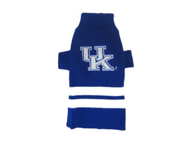 Pets First Sports Team Logo Kentucky Wildcats Dog Sweater Large