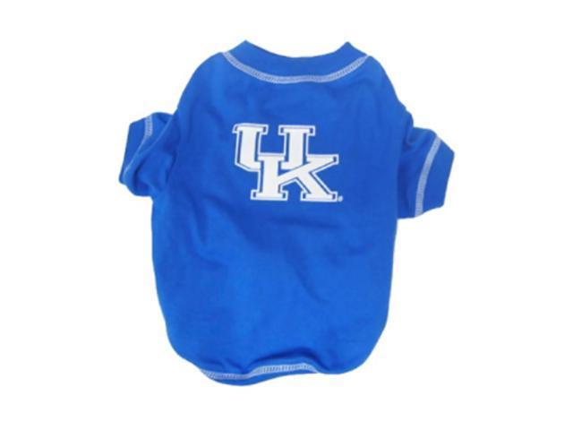 Pets First Sports Team Logo Kentucky Wildcats Dog Tee Shirt Medium