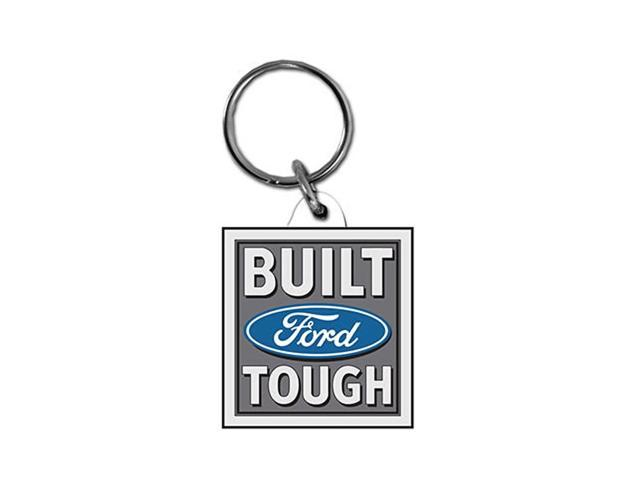 Built Ford Tough Acrylic Keychain -Made in USA  -BRC17K