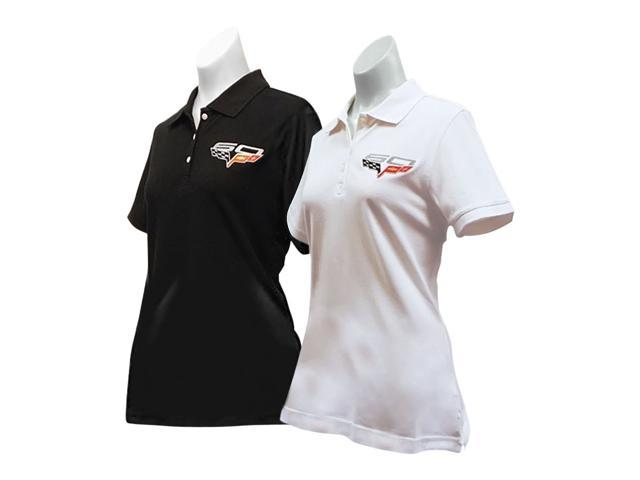 B Elite C6 60th Anniversary Embroidered Ladies Cutter Black- XX Large