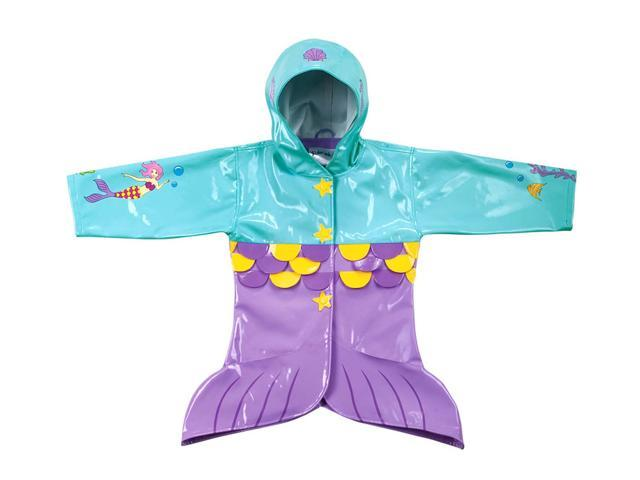 Kidorable Kids Children Outwear Mermaid PU Coats Size 2T