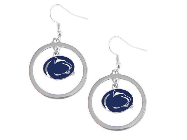 Aminco Penn State Nittany Lions Hoop Logo Earring Set