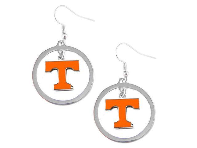 Aminco Tennessee VOLS Volunteers Hoop Logo Earring Set