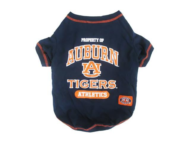 Pets First Sports Team Logo Auburn Dog Tee Shirt Medium