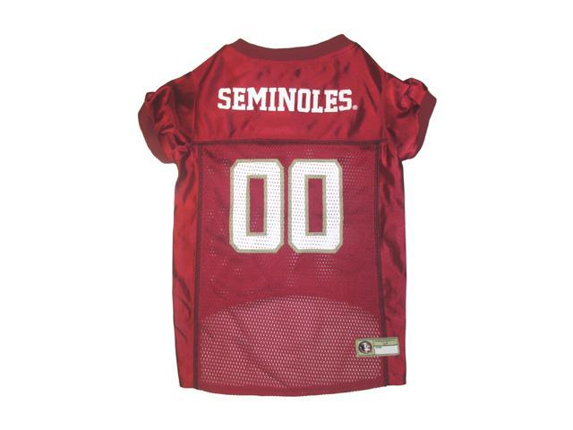 Pets First Sports Team Logo Florida State Dog Jersey Small