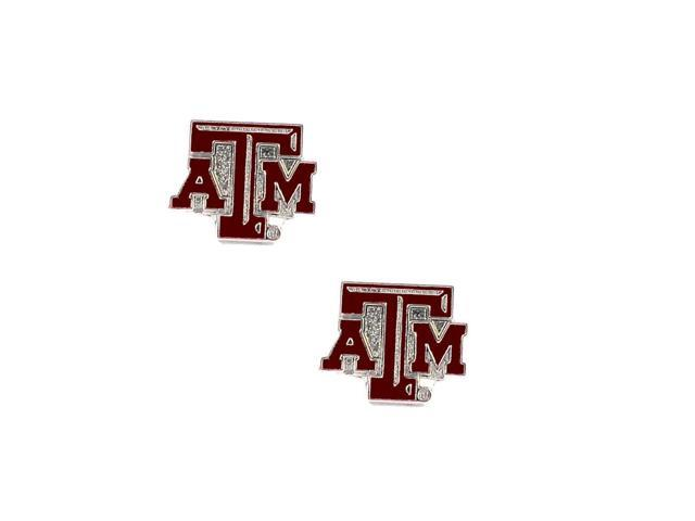 Texas A&M Aggies Post Stud Logo Earring Set Ncaa Charm