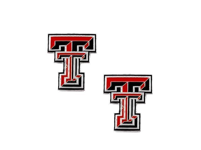Texas Tech Raiders Post Stud Logo Earring Set Ncaa Charm