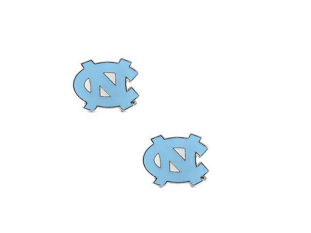 North Carolina Tarheels Unc Post Stud Logo Earring Set Ncaa Charm Gift