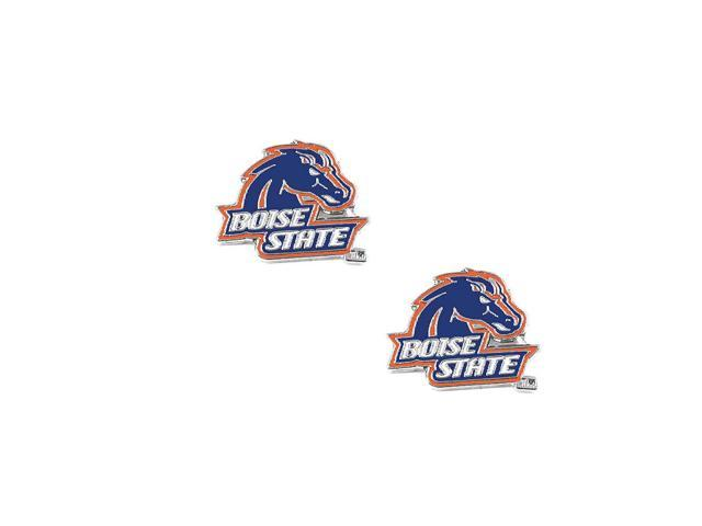 NCAA Boise State Broncos Post Stud Earring Charm Gift Set