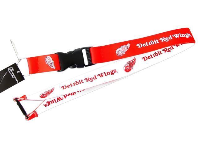 NHL Detroit Red Wings Sports Team Logo Reversible Lanyard