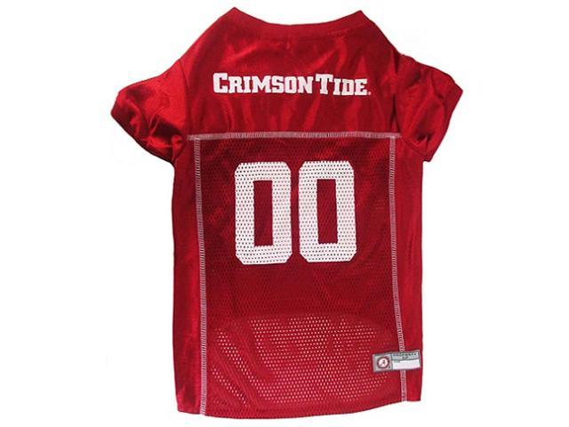 Pets First Sports Team Logo Alabama Dog Jersey Extra Small