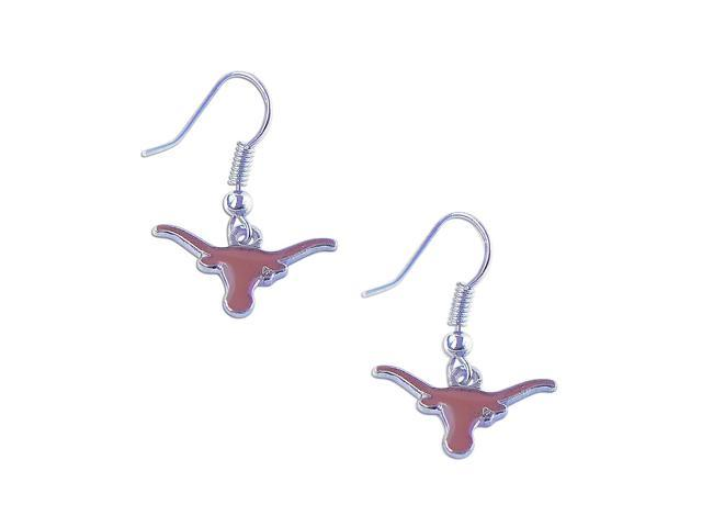 Texas Longhorns Dangle Logo Earring Set Ncaa Charm