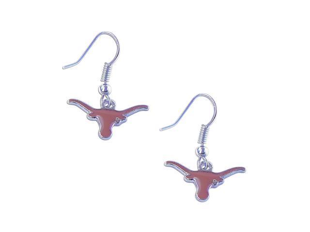 Texas Longhorns Dangle Logo Earring Set Ncaa Charm