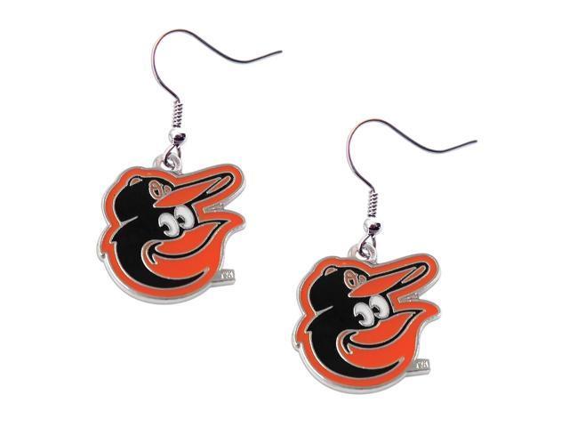 Baltimore Orioles Dangle Logo Earring Set MLB Charm Gift