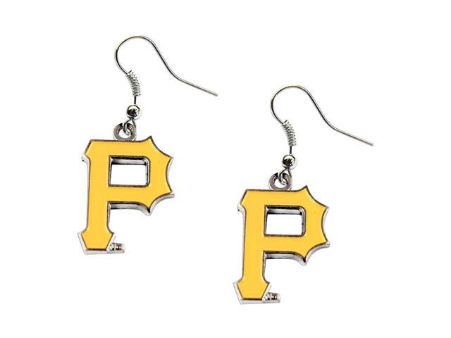 Pittsburgh Pirates Dangle Logo Earring Set MLB Charm Gift