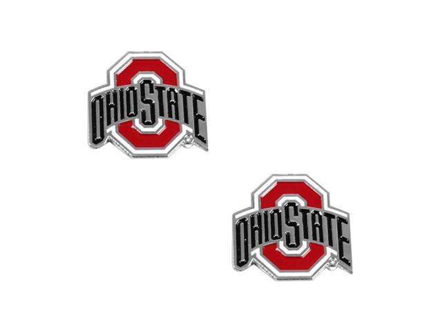 Ohio State Buckeyes Post Stud Logo Earring Set Ncaa Charm