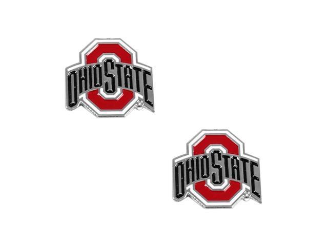 Ohio State Buckeyes Post Stud Logo Earring Set Ncaa Charm