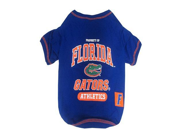 Pets First Sports Team Logo Florida Gators Dog Tee Shirt Xtra Small