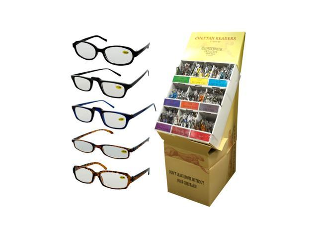 Kole Imports Fashionable Reading Glasses Display Case Of 360
