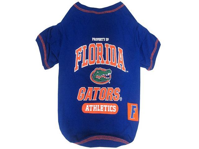 Pets First Sports Team Logo Florida Gators Dog Tee Shirt Large