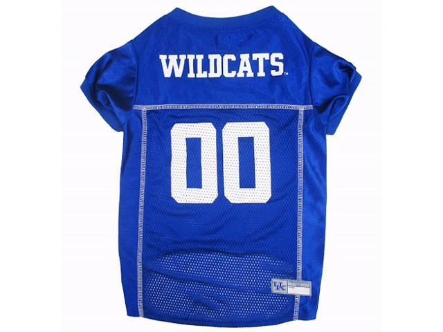 Pets First Sports Team Logo Kentucky Wildcats Dog Jersey Large