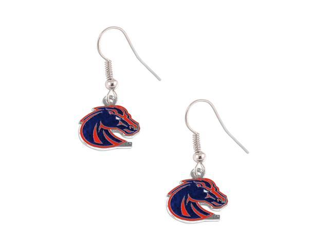Boise State Broncos Dangle Logo Earring Set Ncaa Charm Gift