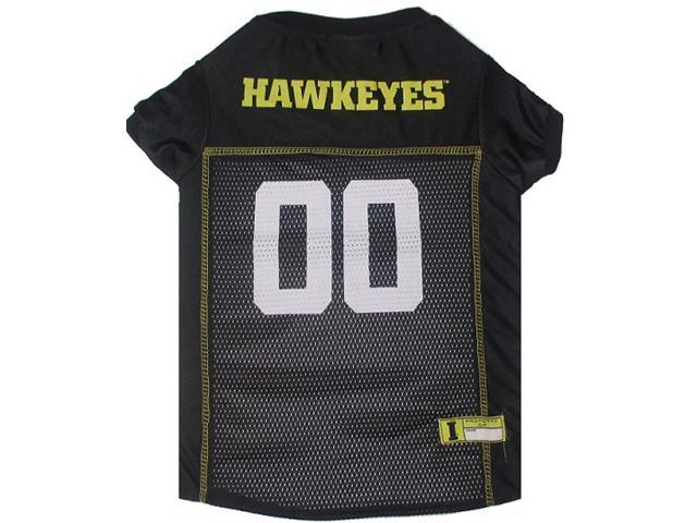 Pets First Sports Team Logo Iowa Hawkeyes Dog Jersey Xtra Small