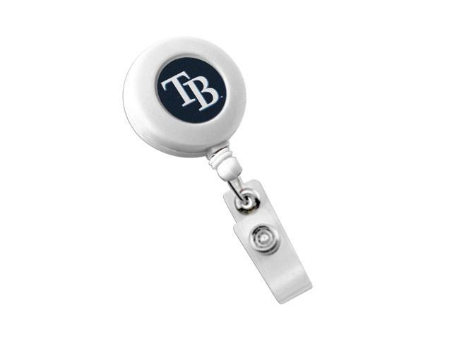 Tampa Bay Rays Team Logo Retractable Badge Reel Id Ticket Clip