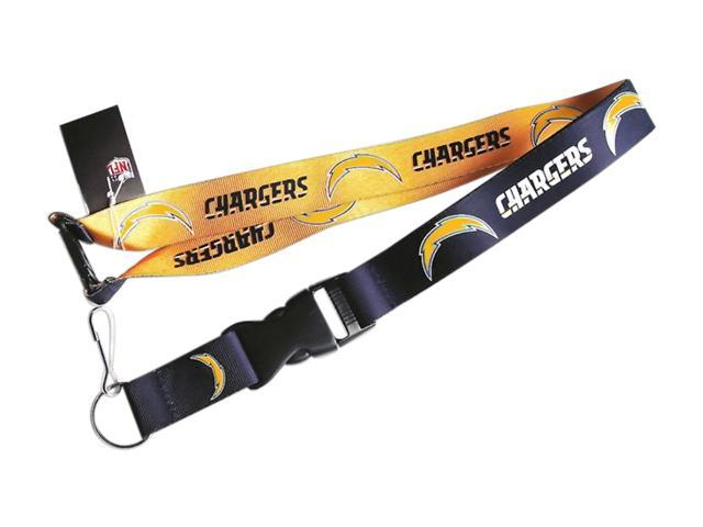 San Diego Chargers Reversible Clip Lanyard Keychain Id