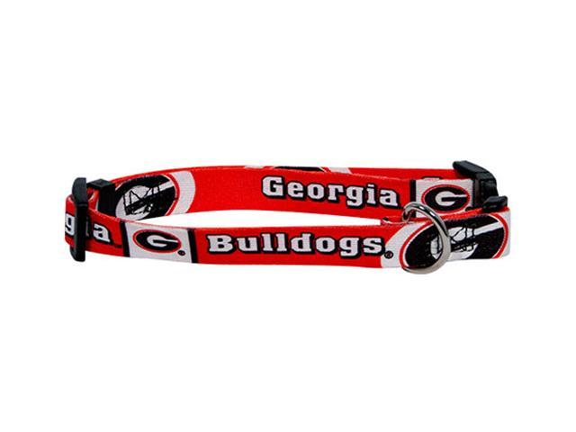 Hunter Sports Team Logo Georgia Bulldogs Dog Collar Medium