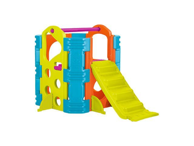 ECR4Kids Preschool Kids Children Outdoor Climb and Slide - Vibrant