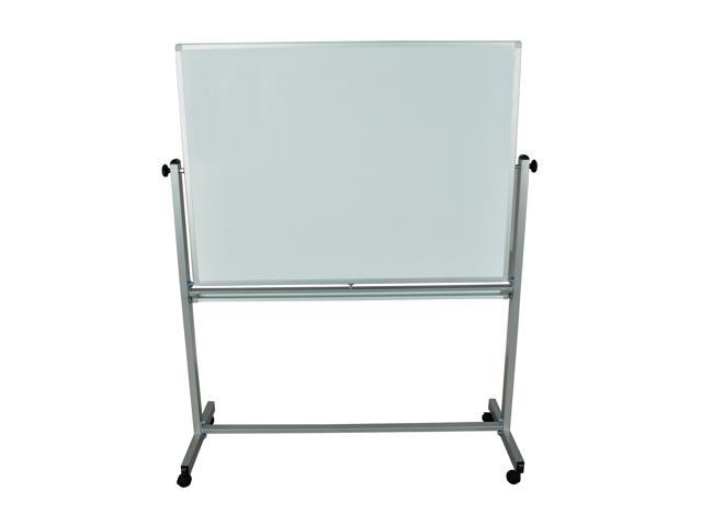 Offex Mobile Dry Erase Double Sided and Magnetic Whiteboard - 48