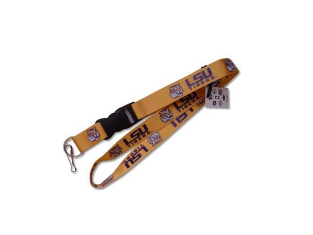 Lsu Tigers Clip Lanyard Keychain Id Ticket Champions