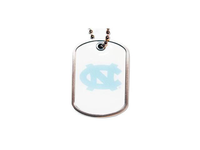 North Carolina Tar Heels Dog Tag Necklace Charm Chain Ncaa