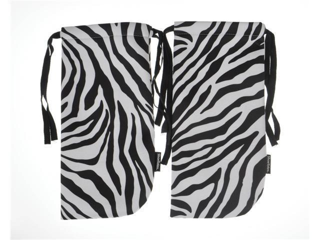 ShoeTotes in Zebra/Black