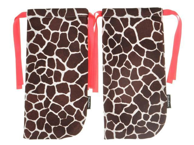 ShoeTotes in Giraffe/Pink