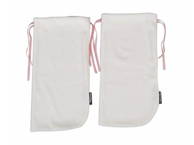 ShoeTotes in Winter White/Pink