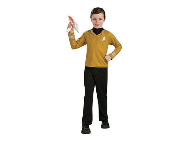 Star Trek the Movie Child Deluxe Gold Shirt