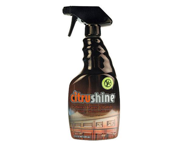 Bryson Citrushine Non-Toxic, Non-Corrosive, Non-Flammable, Biodegradable Cabinet Polish for Laminate,  Painted Cabinets and Sealed Wood